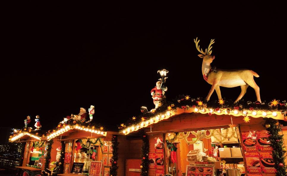 日本でもクリスマスマーケット! ビール片手に本場の雰囲気を