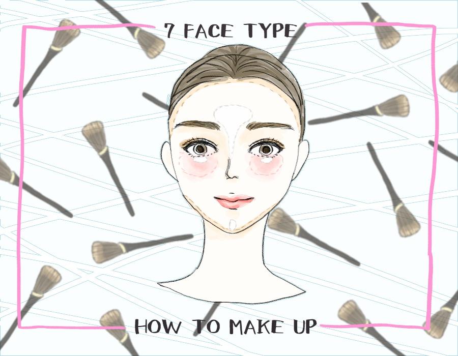 丸顔さんは縦を強調…あなたに合ったテクがわかる「顔型別メイク診断」