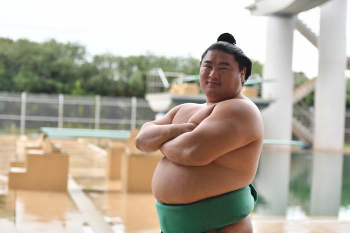 元気な35歳 嘉風関が「マジでやめて~」って? 『大相撲観戦ガイド』裏話その1