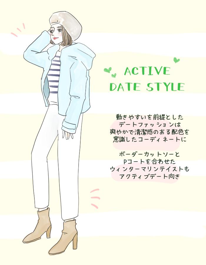 映画、スケート、ディナー…シーン別! 彼がときめく真冬デートコーデ スタイリストのファッション恋愛術 ♯57