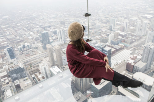 地上103階で浮遊体験!春はシカゴへ「女子が楽しめる6つのコト」