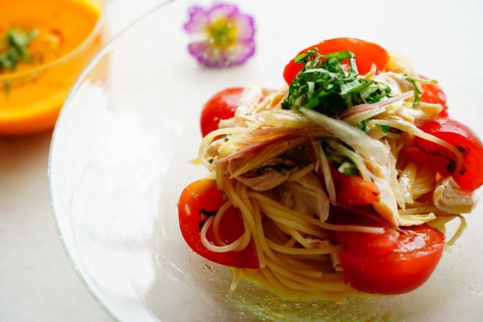 男が好きなパスタ…夏にひんやりさっぱり!「簡単冷たいパスタ」レシピ