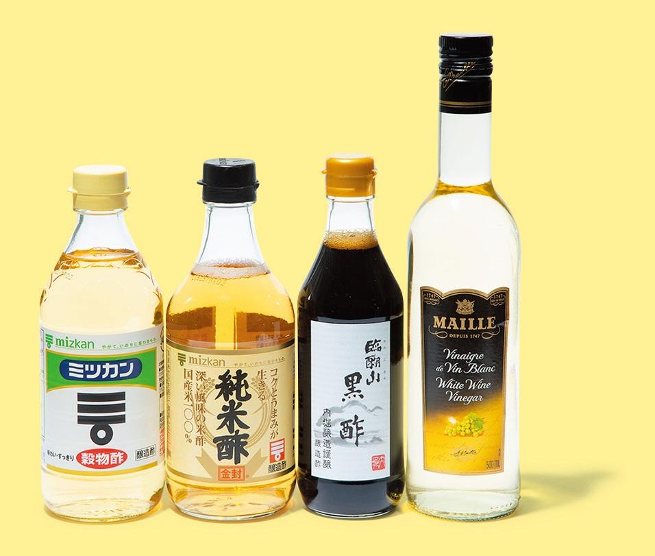 """夏の疲れに""""酢""""です! 4つの効果的な摂り方とは?"""
