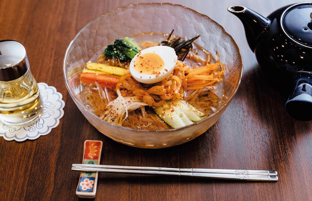 1日限定20食! 伝統的な製法を受け継ぐ「元祖冷麺」