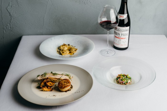 """イタリアの家庭料理が…新たな発想楽しむ""""創作""""リストランテ"""