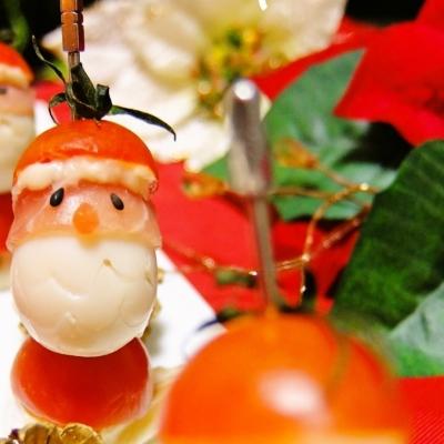 子供が喜ぶ!クリスマスの食卓を可愛く彩るとても簡単デコ料理アイディア