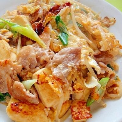 節約食材「もやし」と「豆腐」でパパっと作ろう♪ボリューム満点晩ごはん