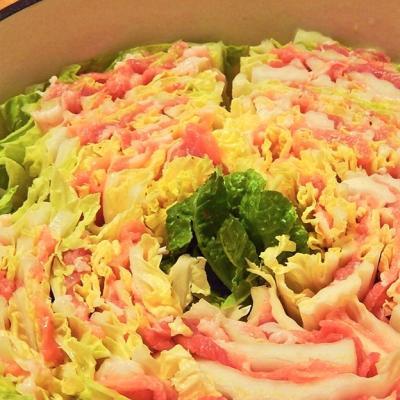 白菜1玉食べちゃえそう!簡単おいしい!白菜ミルフィーユ鍋