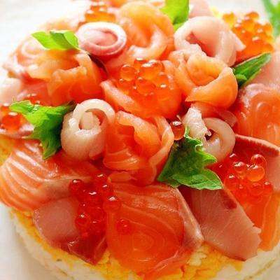 ひなまつりはおうちで華やかちらし寿司♪