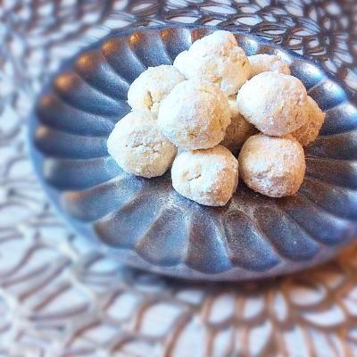 ホワイトデーにぴったり!コロっとかわいいスノーボールクッキーを作っちゃおう♪