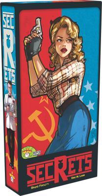 冷戦時代の諜報戦をテーマにした、ブラフと支配のチーム戦 「シークレット:米ソ諜報戦」 多言語版 8月下旬発売予定