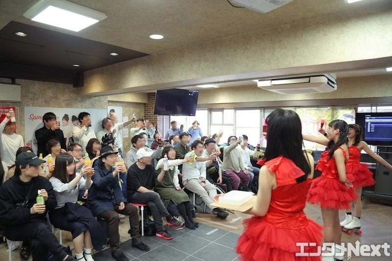 プレオープンながらすでにアイドルイベントを開催している「ドラマカフェ池袋」。