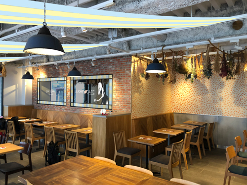カフェでカラー判定「JUSME CAFE」が表参道にオープン!