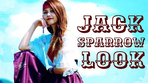 ジャック・スパロウ姿が「可愛い!」と話題の女子は誰?