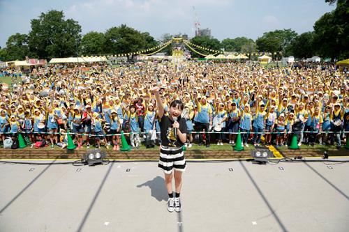 芦田愛菜も応援に駆け付け熊本城公園がミニオン一色に!