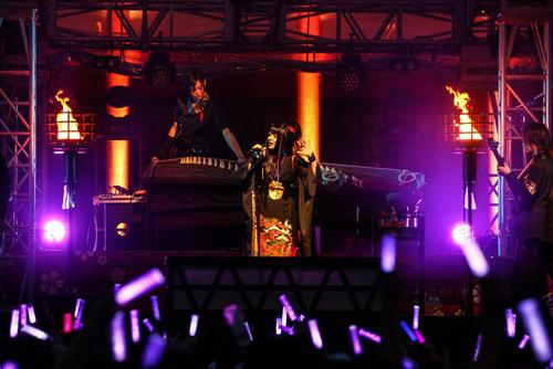 和楽器バンド、京都・平安神宮で単独奉納ライブ開催!