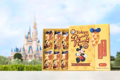 ミッキーマウス仕様の「東京ばな奈」、TDL限定で登場