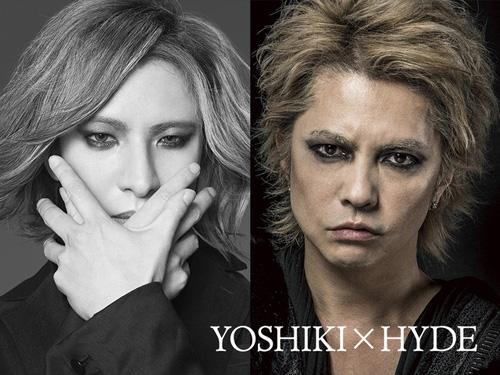 YOSHIKI×HYDE、VAMPS主宰イベントでコラボ再び!