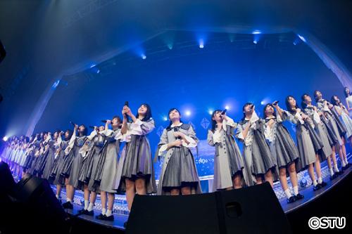 STU48、東京で初単独ライブに2000人が熱狂