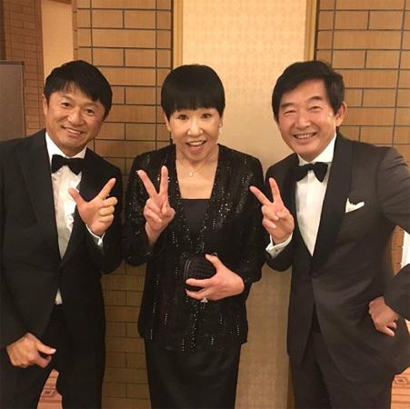 和田アキ子、両手に花(!?)の3ショット公開