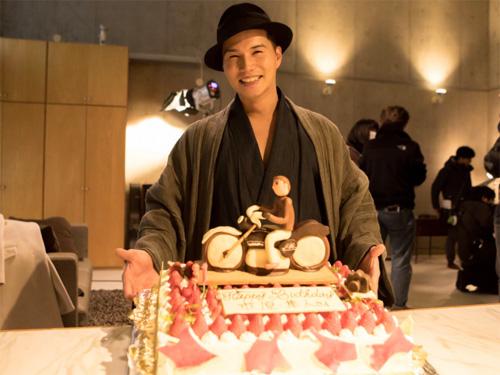 『明日きみ』市原隼人、31歳誕生日のサプライズに感激