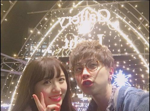 リアルガチ! 元AKB48大和田南那がイルミデート写真公開