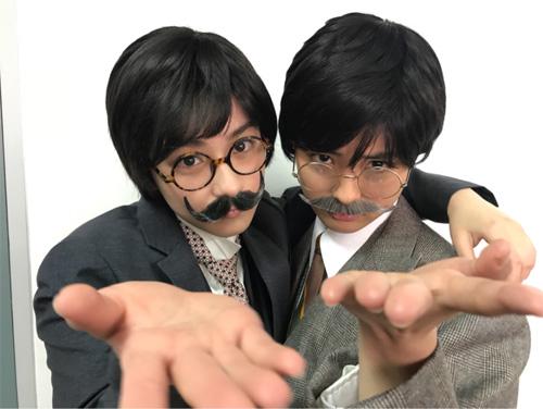 """大友花恋&平祐奈の""""男装ショット""""に「カッコイイ」"""