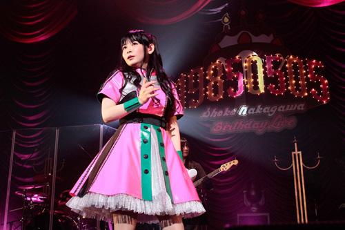 中川翔子「立派なレベル33になります」BDライブ開催!