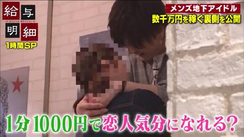キスできるアイドル!? 推定月収200万円超?その実態は…