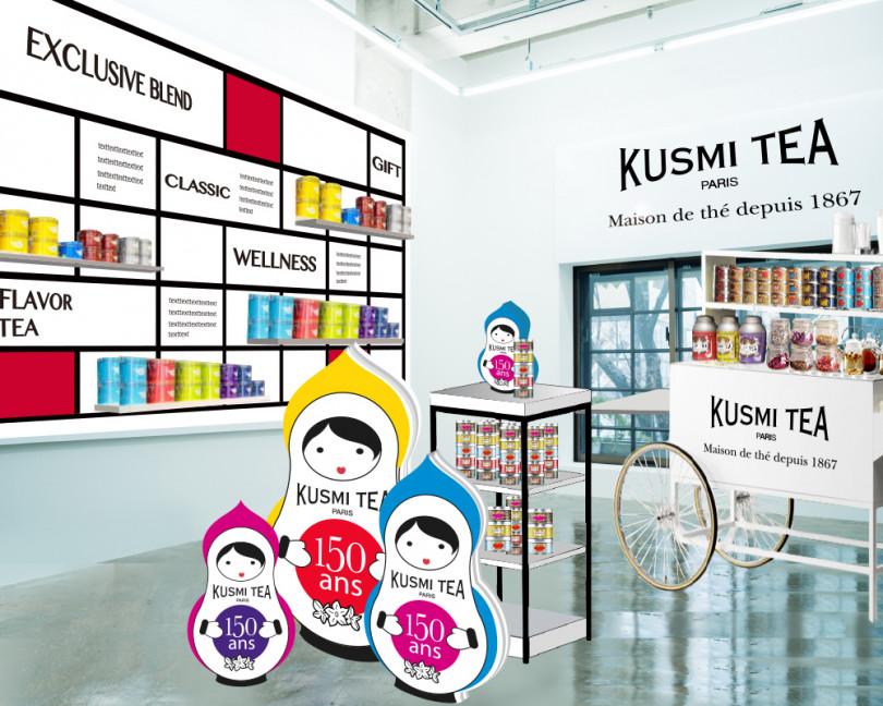 150周年を迎えるクスミティー(KUSMI TEA)が初のポップアップストアを開催