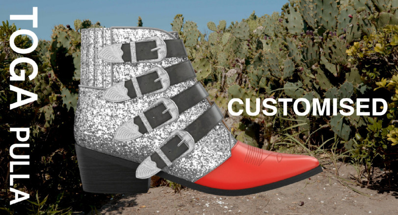 「Toga Pulla Customisable Boots」