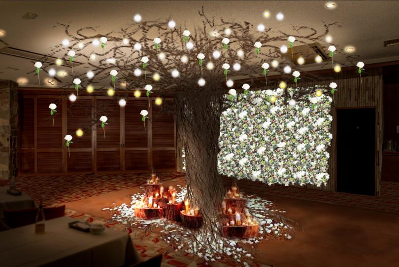 「アメリカン・エキスプレス プレゼンツ ウィンターガーデンラウンジ(American Express presents Winter Garden Lounge)」