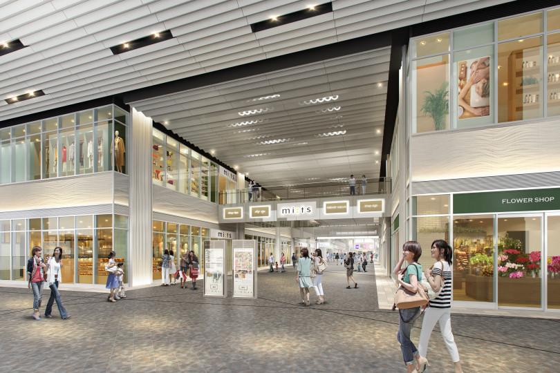 国分寺駅北口に開業する新規商業施設「ミーツ国分寺」(イメージ画像)
