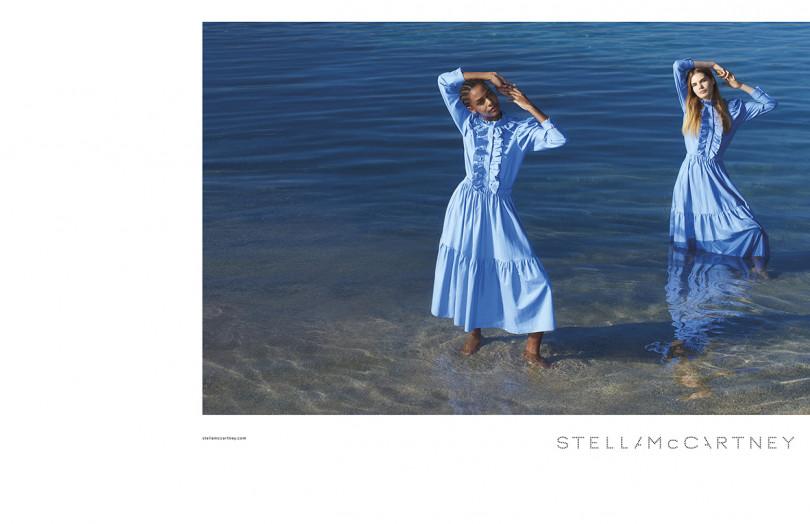 ステラ マッカートニー2018年夏広告キャンペーンビジュアル