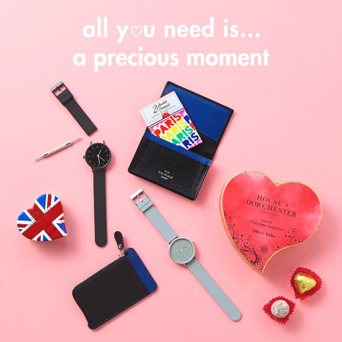 バレンタイン特別展示「all you need is LOVE」