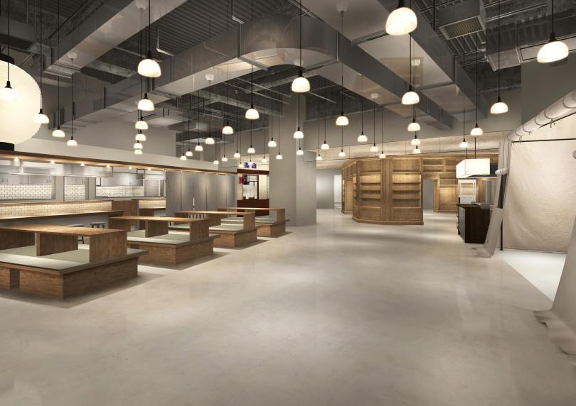 複合型店舗「ヒビヤ セントラル マーケット」