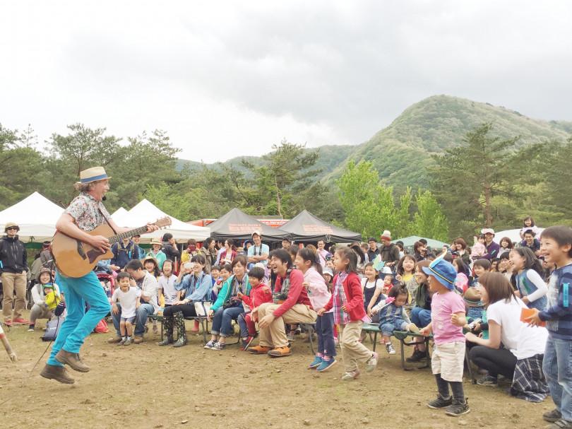 親子で楽しめる野外フェスティバル「mammoth HELLO CAMP」開催