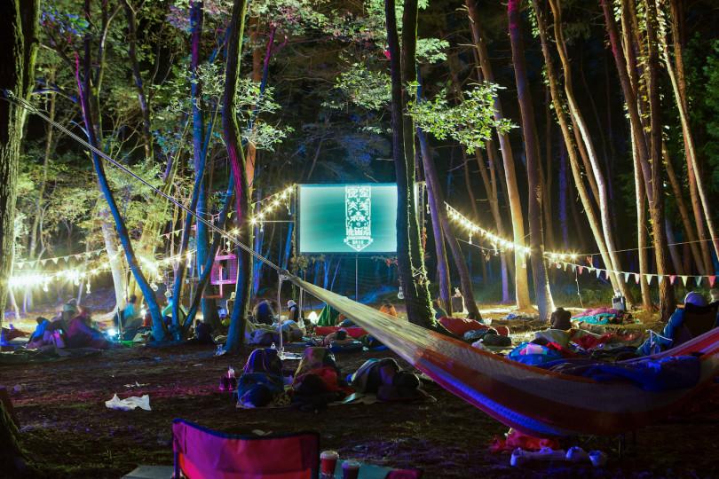 野外映画フェス「夜空と交差する森の映画祭」