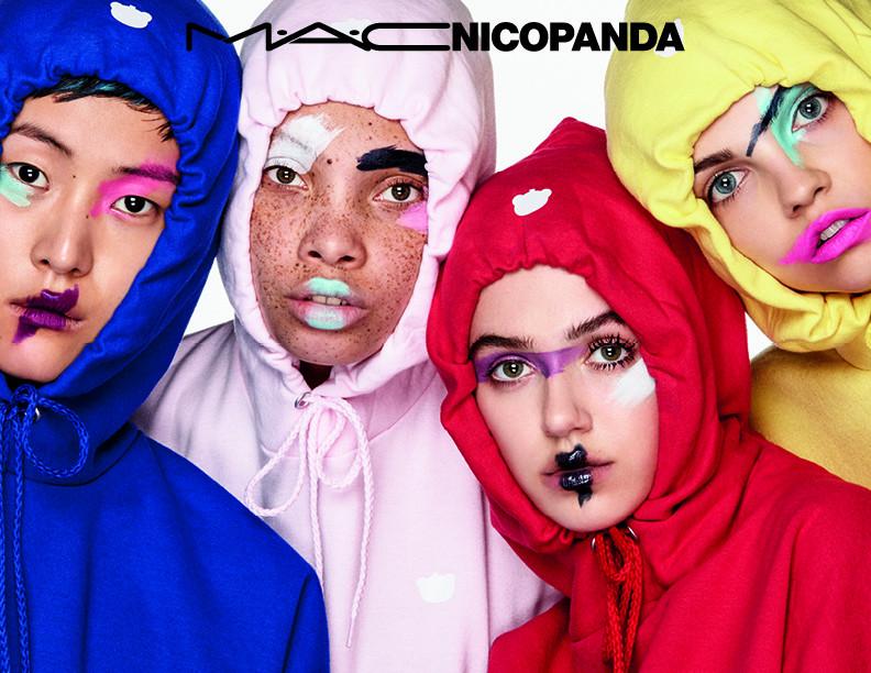 限定メイクアップコレクション「マック ニコパンダ(M・A・C NICOPANDA)」