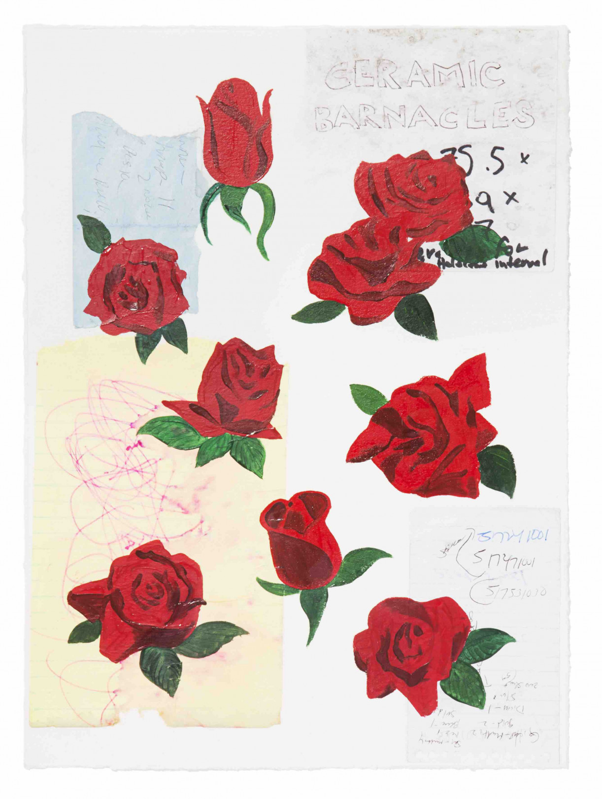 KOJI YAMAGUCHIの個展「ROSES」、SALT AND PEPPERと代官山蔦屋で同時開催
