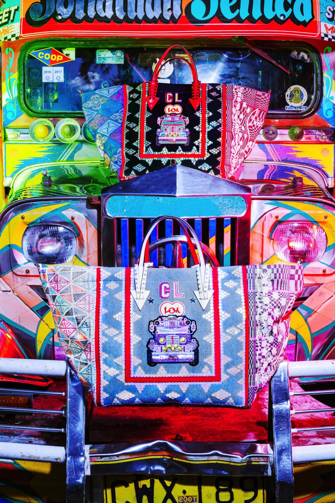 クリスチャン・ルブタン、マニラに着想を得た新作トートが並ぶポップアップを新宿伊勢丹メンズ館で開催中