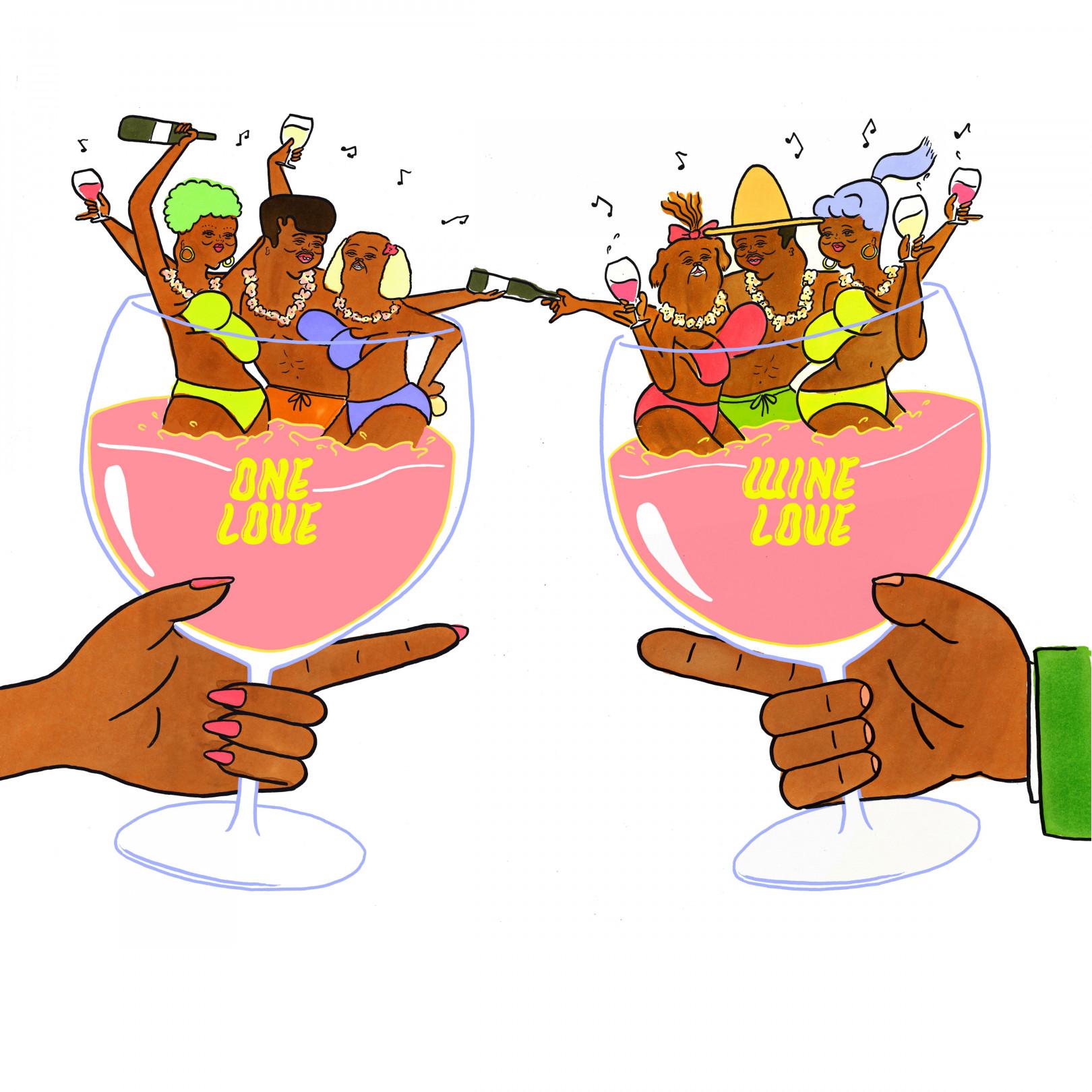 美味しいワインを楽しめるイベント「ONE LOVE,WINE LOVE -Let's get together and feel all right-」開催