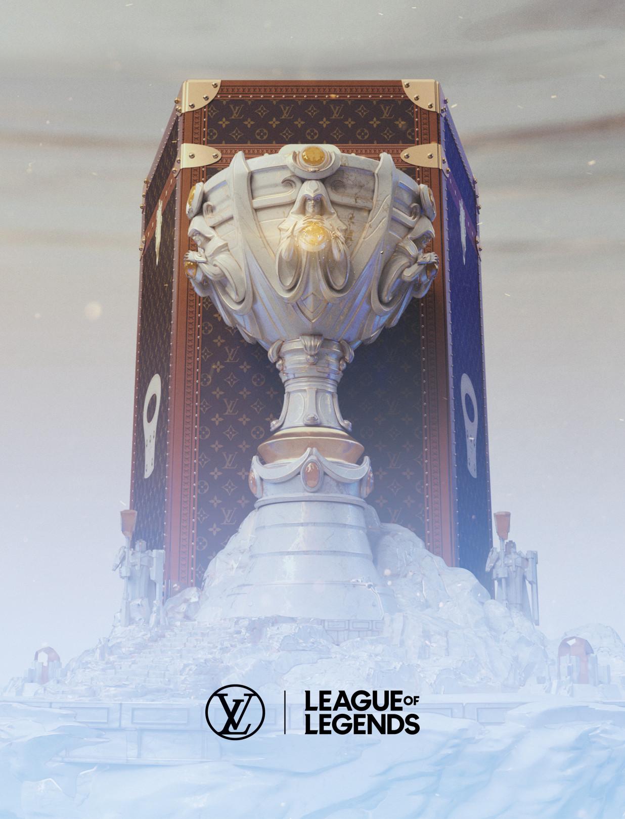 ルイ・ヴィトン、「リーグ・オブ・レジェンド」世界大会の優勝トロフィーを収めるトロフィー・ケースを製作