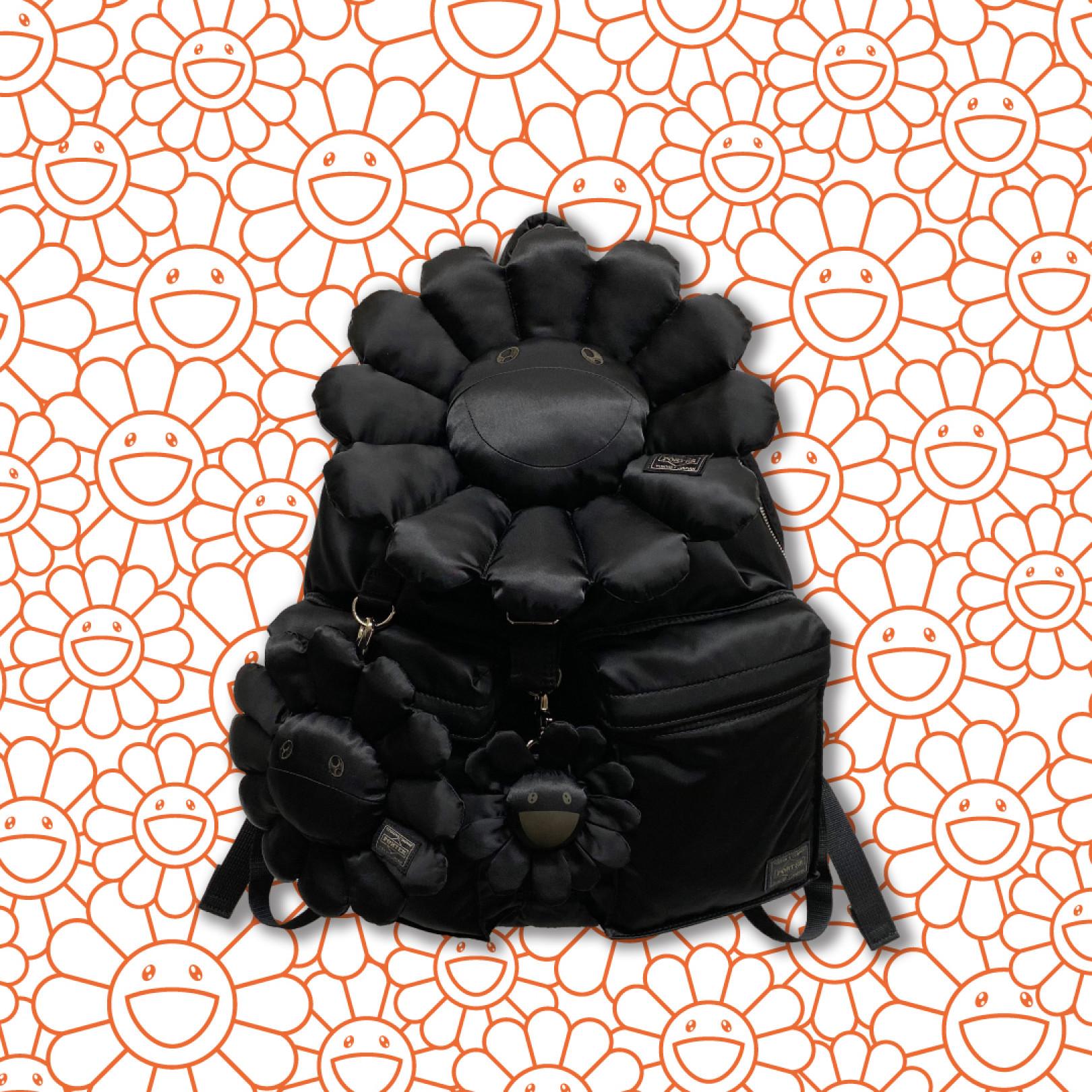 「村上隆×ポーター」コラボレーションバッグに新色のブラックが登場