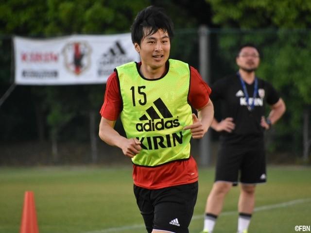 【サッカー】<日本代表に初選出されたMF加藤恒平>ジョークの余裕も「日本のブルガリアヨーグルトが一番おいしい」