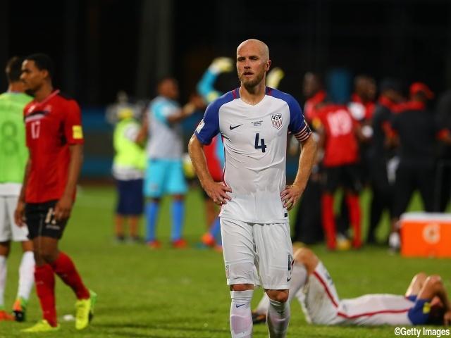 ロシアワールドカップを逃した国...
