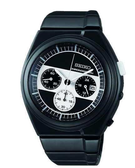 ジウジアーロ・デザインのモノクロームな腕時計に際立つ機能美