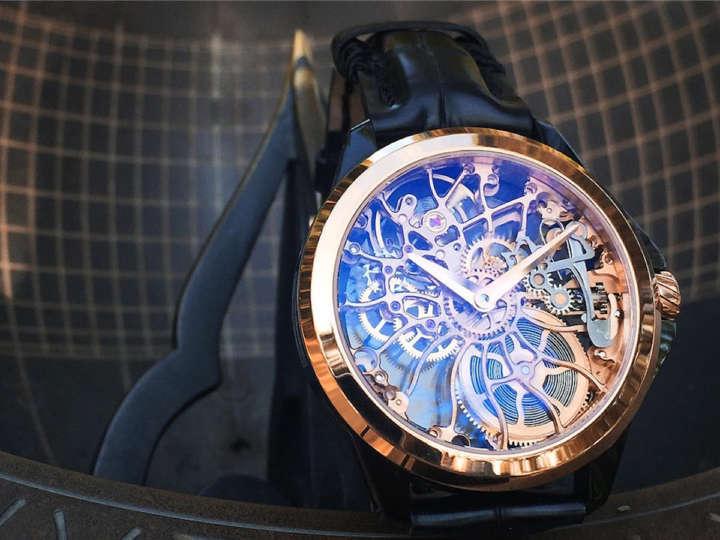 せ、世界で1本だけ!? 超レアなフルスケルトン時計