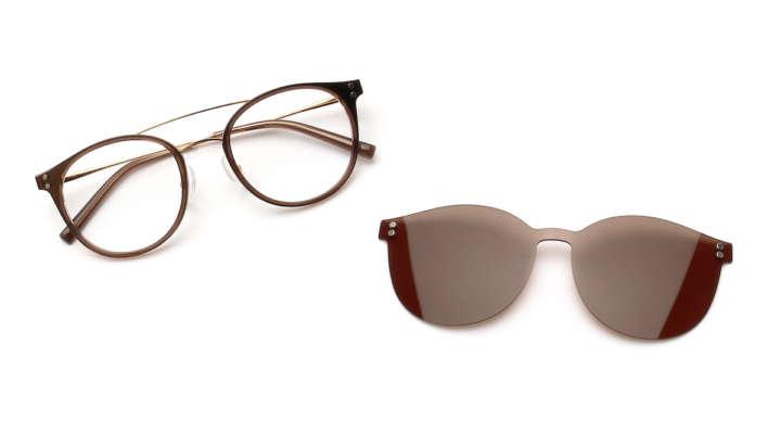 日差しがまぶしい!そんな時はメガネをサングラスに変身させよう