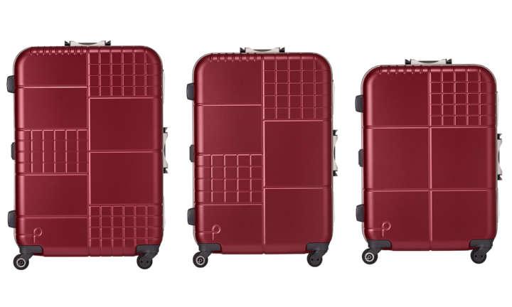 1泊の目安は10L!サイズがひと目で分かるスーツケースです